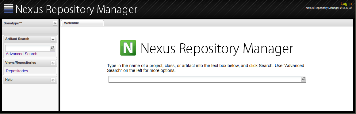 Beaches] Nexus repository manager sign in