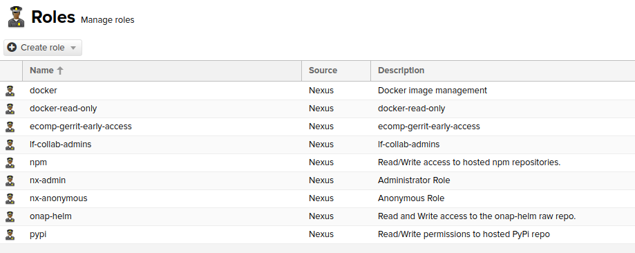Nexus 3 Guide — lf-releng-docs master documentation